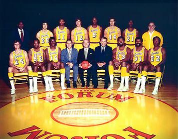 1971-1972 Los Angeles Lakers